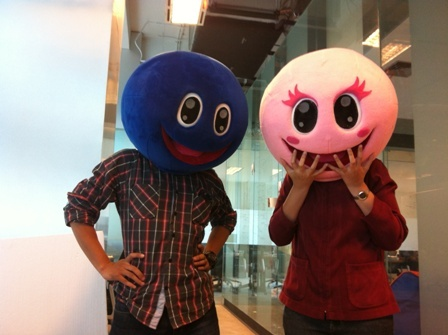 Hello! We are Blue Guy & Pinky Girl #kaskus