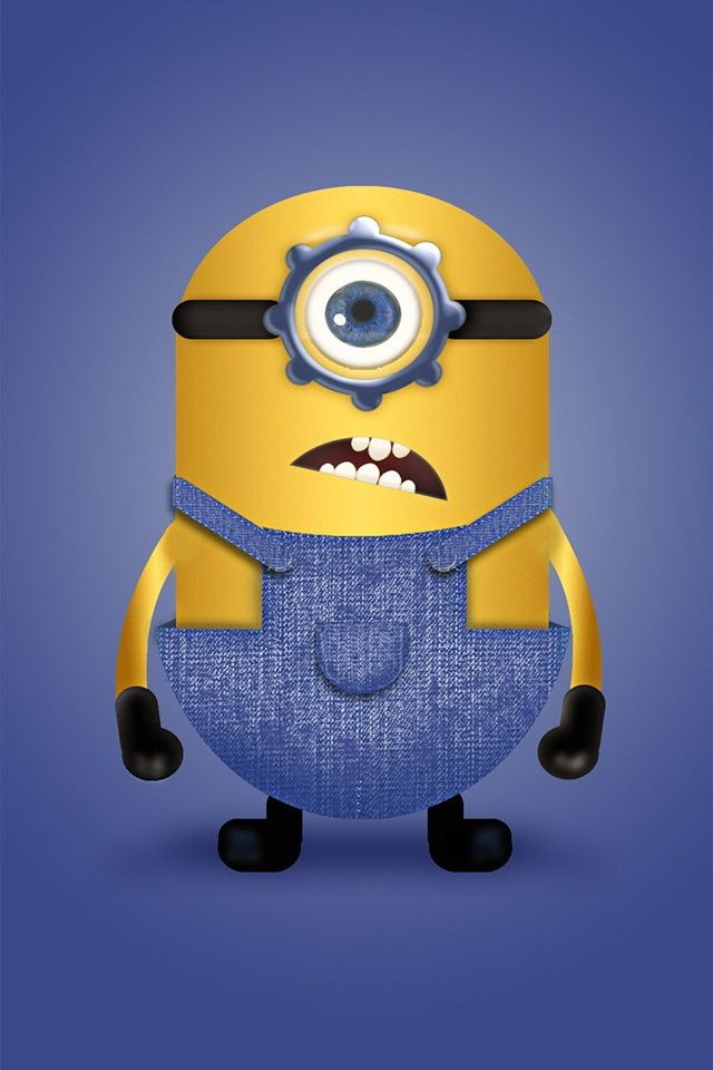 This is a scared minion