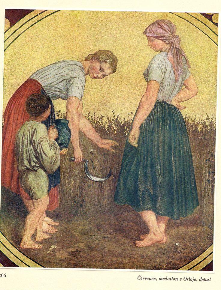 Červenec, Staroměstský orloj, Josef Mánes
