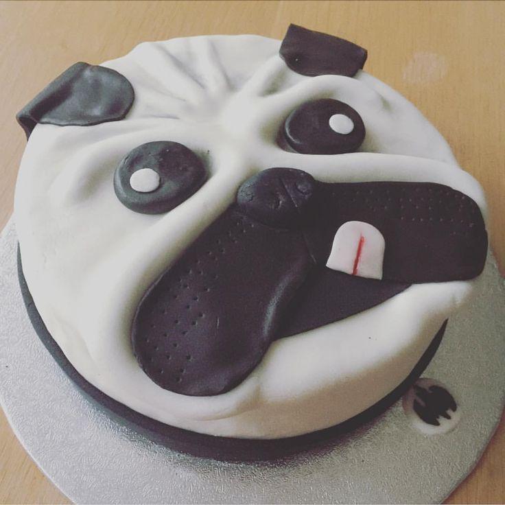 how to make a pug cake topper
