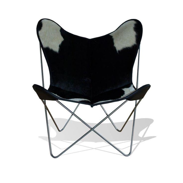 Butterfly Chair Leder