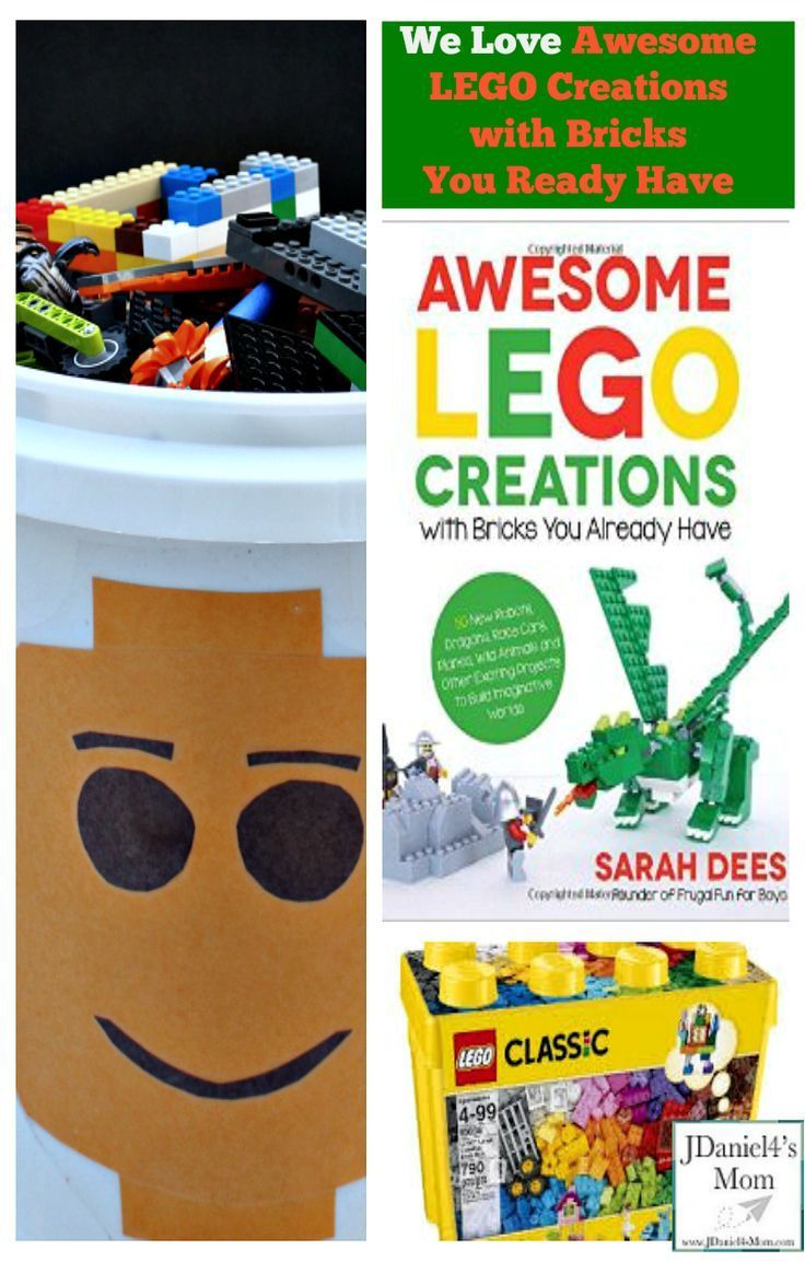 We Love Awesome LEGO Creations with Bricks You Ready Have and LEGO Bucket