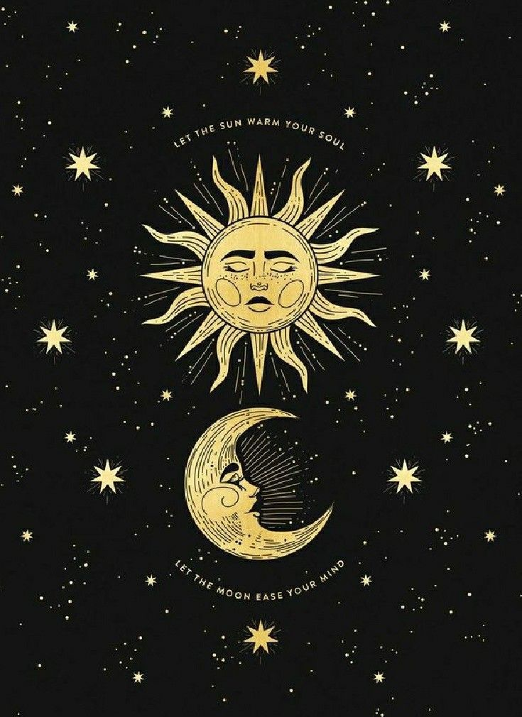 Wallpaper Moon Art Art Wallpaper Sun Art