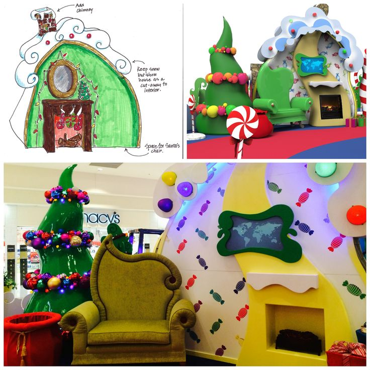 We took an artist's drawings, turned them into CAD renderings, and transformed those pictures into a real life Santa Set!!