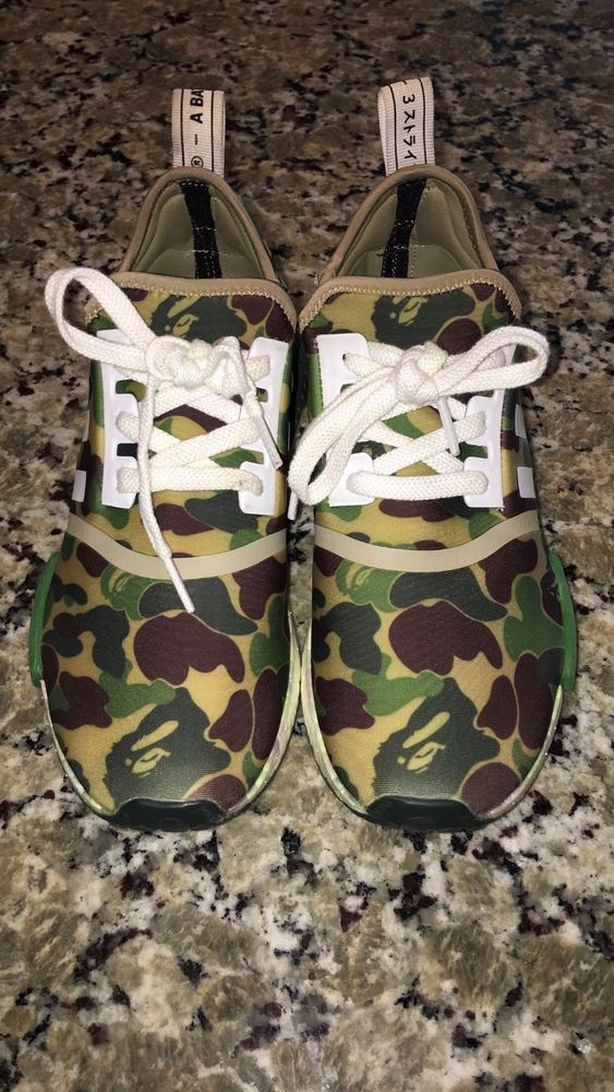 c1f45e69d Adidas NMD R1 Bape X Japan Green Camo Men SZ 8.5 In very good condition   fashion  clothing  shoes  accessories  mensshoes  athleticshoes (ebay link)
