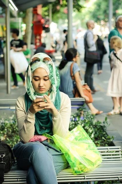 Dian Pelangi - hijab style