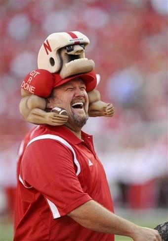 Larry the Cable Guy supports the Huskers!