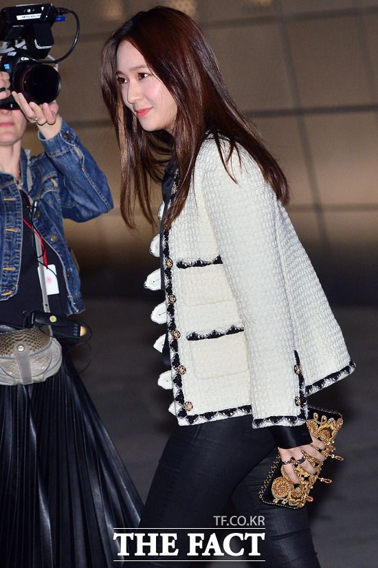 Stars Step Out for the Chanel 2015 Cruise Collection Fashion Show in Seoul | A Koala's Playground - Krystal