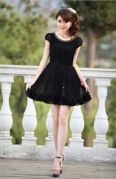 Style dress untuk orang pendek lucu