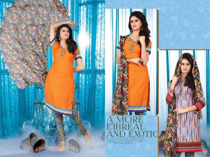Buy Designer Hum Tum Vol-2 Two Top synthetic Dress Material