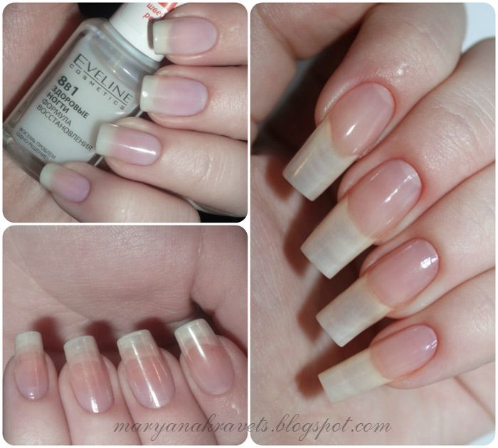 Eveline Nail Therapy 6 in 1 Care&Colour French