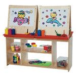 <strong>Marker Tray Flipchart Easel</strong> by Wood Designs