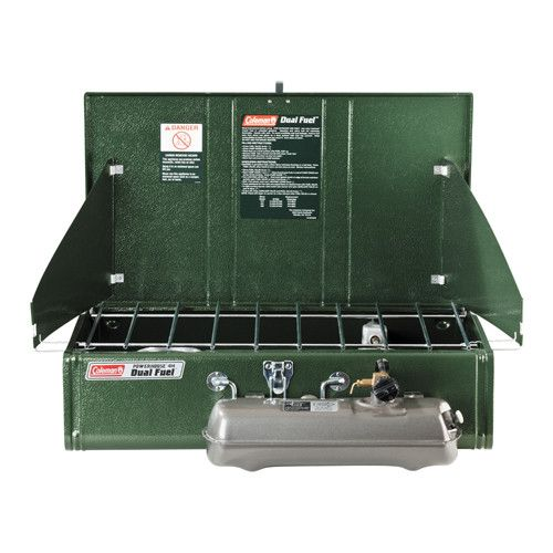 Coleman Dual Fuel Stove 2 Burner Powerhouse
