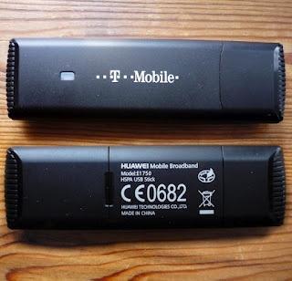 Specs Huawei E1750 USB Modem