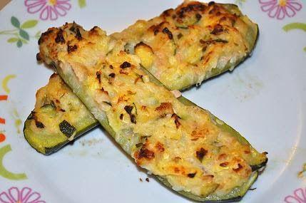 Gluten- Free, ZUCCHINE ripiene super sfiziose,  una ricetta per far fuori quello che rimane nel frigo