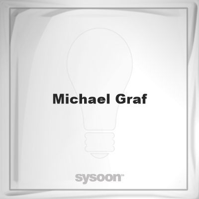 Michael Graf: Page about Michael Graf #member #website #sysoon #about