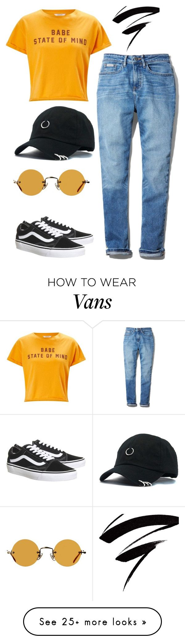 """""""Untitled #713"""" by foxessx on Polyvore featuring Calvin Klein, Miss Selfridge, Vans and Hakusan"""