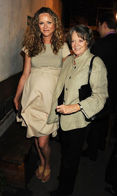 Anna-Louise Plowman and Maggie Smith