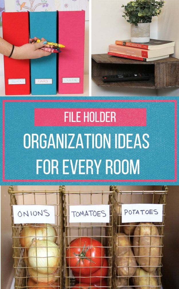 10 Creative Ways To Organize With Magazine Holders Around Your House