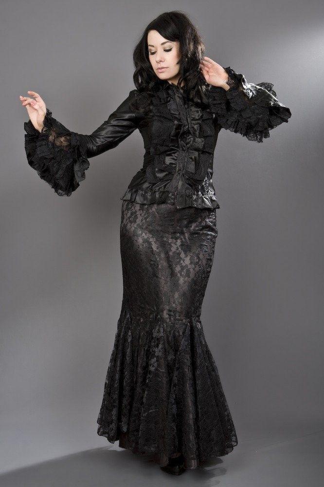 Jupe Trompette Sirène Gothique Victorien