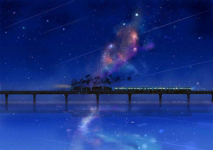 Illustration Moon Japanese Illustrator Enchants Twitter With Magical 'Full Moon Coffee Shop' T...
