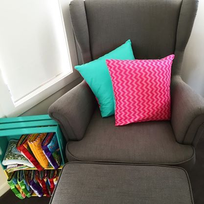 Reversible custom cushions! $24 each or 3 for $65. We can mix and match any combo for you!