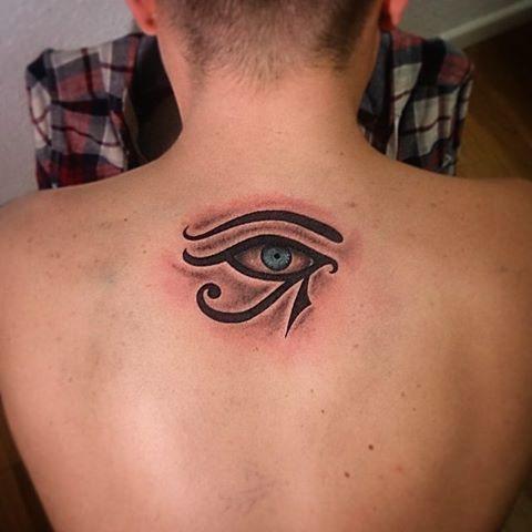 ojo de horus tatuaje - Buscar con Google                                                                                                                                                      Más