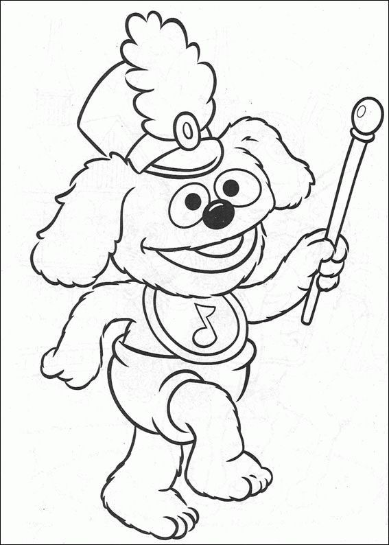 21 Best Muppet Show Coloring Pages Images On Pinterest Colouring Marching Band Coloring Pages
