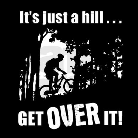 get over it  Wise words :-)  thefitnesshacker.com/wp