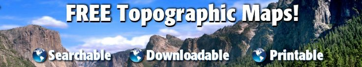 Colorado Topographic maps by area