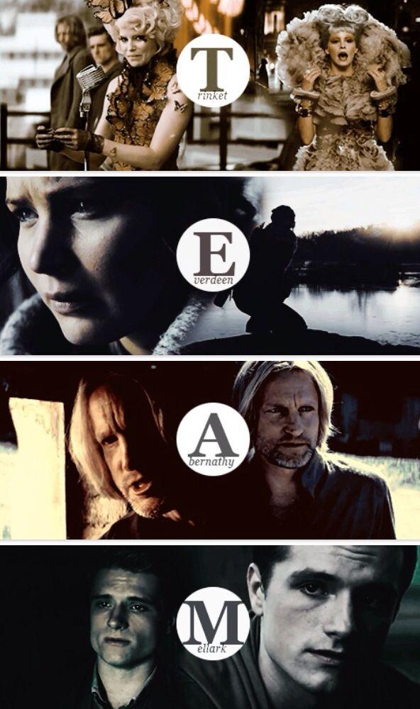 Hunger Games / Catching Fire / Peeta / Katniss / Effie / Haymitch / Team