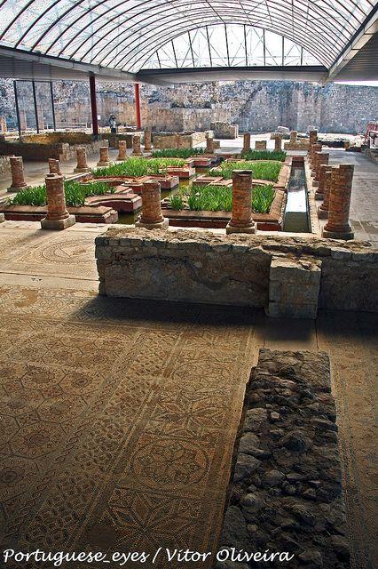 Roman ruins in Portugal- Ruínas Romanas de Conímbriga - Portugal by Portuguese_eyes, via Flickr