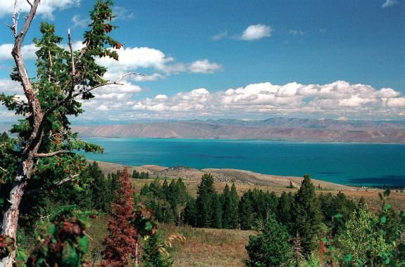 Bear Lake, Utah & Idaho - Such a beautiful lake!  I love that first view as you wind down the mountains.