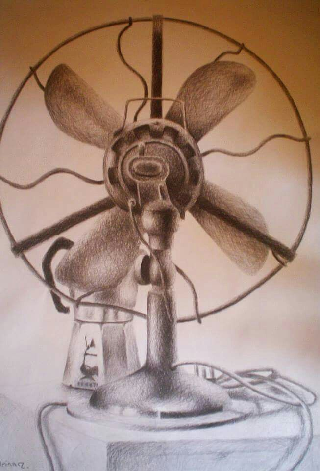 Stillife with fan