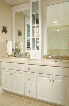 home decorating double sink bathroom ideas | Double Sink Bathroom Counter Design Ideas, Pictures, Remodel, and ...