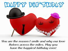 Birthday Love Wishes http://birthday-wishes-sms.com/444-love-birthday-messages-and-best-wishes-for-lover.html