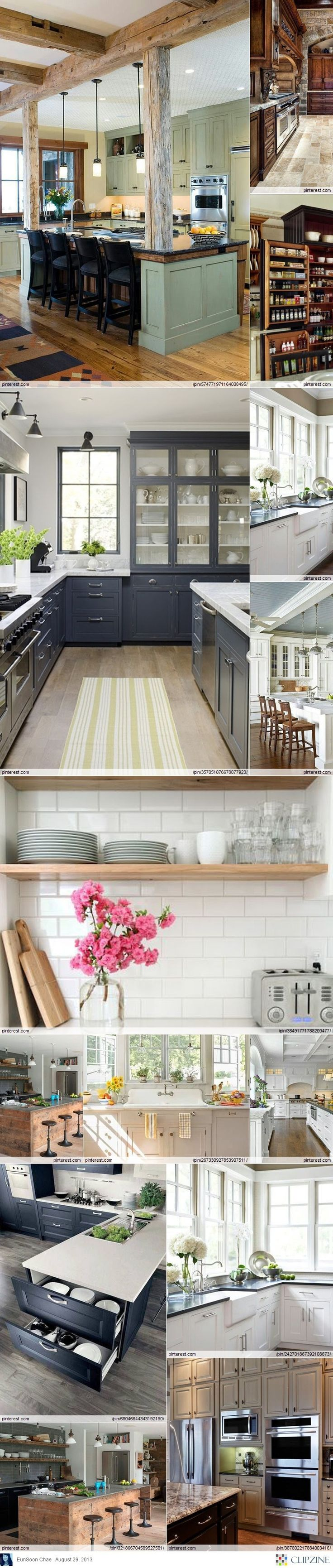 THIS is what my kitchen will look like when that wall gets knocked down!
