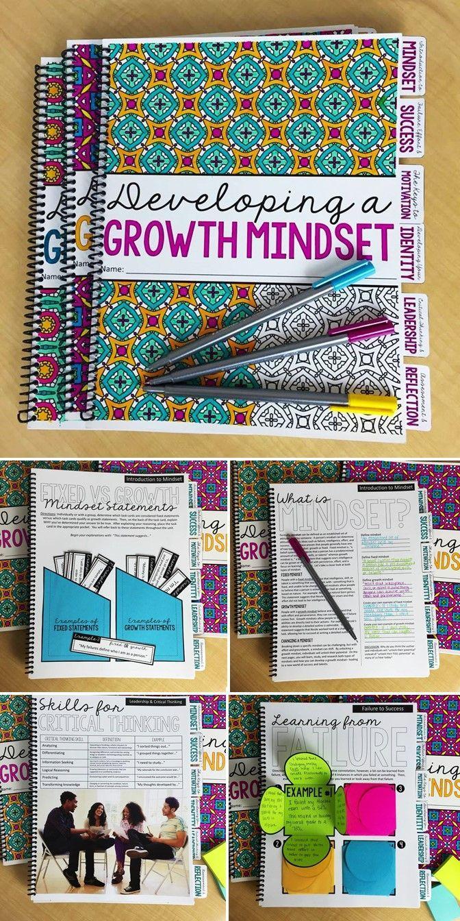 Growth Mindset Bundle | Growth Mindset Unit | Growth Mindset Bulletin Board | Growth Mindset Bell Ringers | Growth Mindset Portfolio | Middle and High School