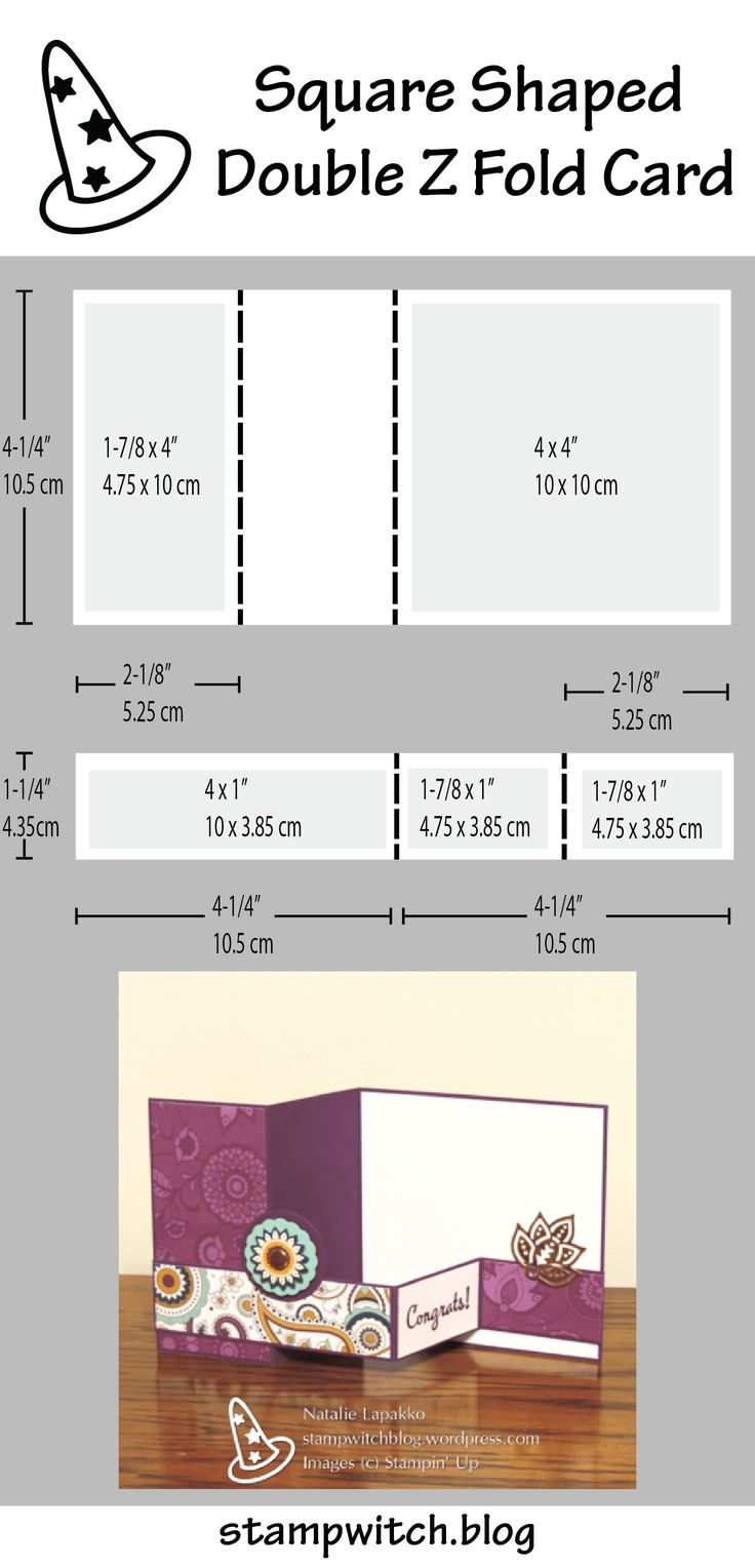 3153 best flip it pop up and stand up cards images on pinterest petals and paisleys double z fold card pronofoot35fo Choice Image