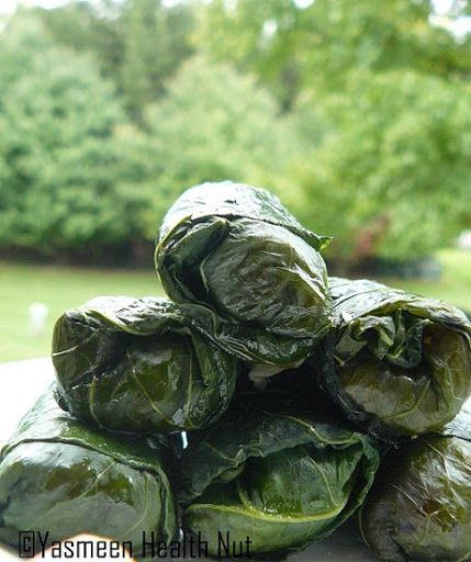 Health Nut: Stuffed Turnip Greens