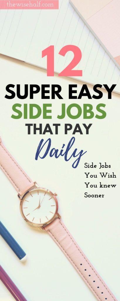 12 Kostenlose Nebenjobs, die täglich Geld verdien…