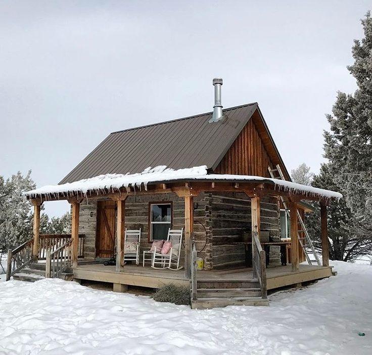 659 best little house living images on pinterest for Stili di log cabin
