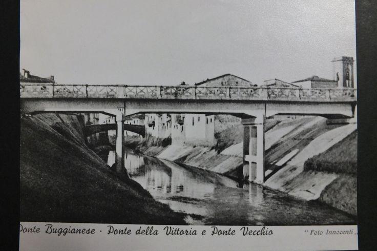"""Il ponte """"nuovo"""" o Ponte della Vittoria, in cemento armato, è stato inaugurato…"""