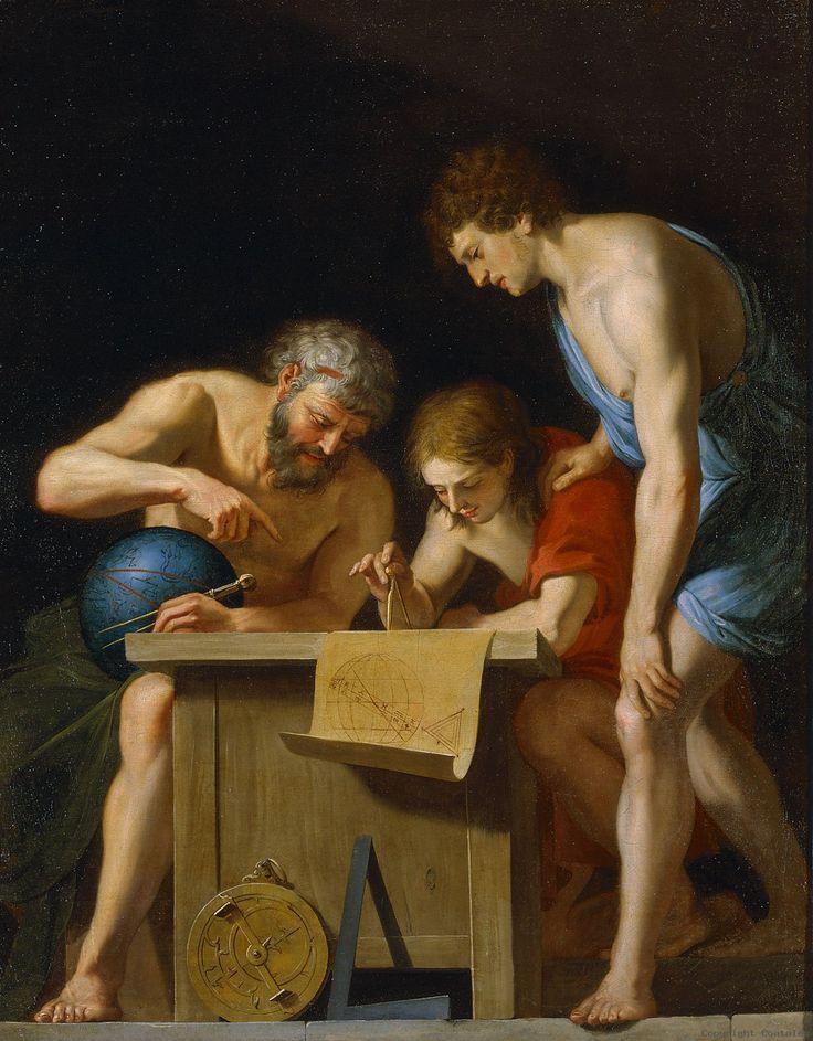 Jacques Stella. Allegorie de l'astronomie