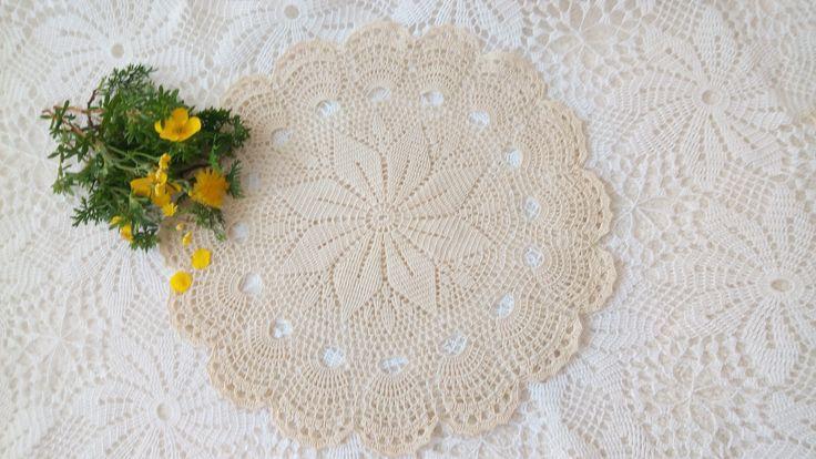 Crochet doily https://wrytmnici.blogspot.com/