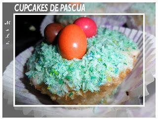COCINANDO Y JUGANDO ENTRE HARINA: MIS PRIMEROS CUPCAKES....DE PASCUA: Cupcakes De Pascua, Primeros Cupcakes De, Coconut Cupcakes, Primero Cupcakes De, Cupcakesd Pascua, Cupcakes Rosa-Choqu, Cupcakes D Pascua, Mis Cupcakes