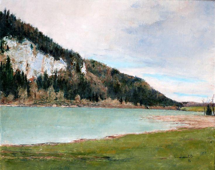Galerie de Thierry Meheut - Artiste peintre jurassien Lac d'Etival