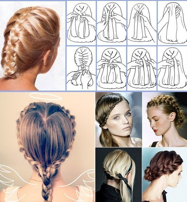 30 French Braids Hairstyles Step By Step How To French Braid Your Own French Braids Hairstyles Step B French Braid Hairstyles Braided Hairstyles French Braid