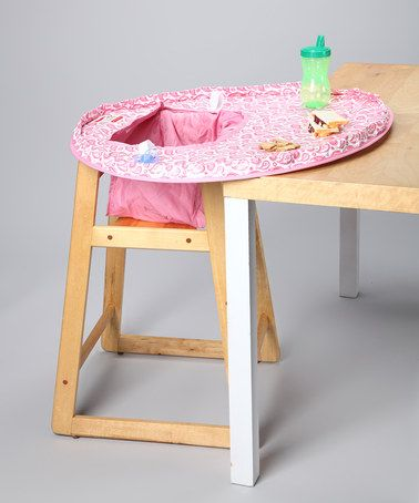 Another great find on #zulily! Sydney High Chair Cover/Place Mat by Neatnik Saucer #zulilyfinds