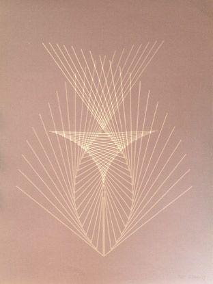 "Andreu #Alfaro ""S/T"", 1975. Serigrafía sobre Pantallas de 75,5x55,5 cm., Papel hecho a mano de 250 gr de medidas 75,5x55,5 cm. Ej.: 25 #art #serigraph"